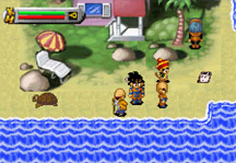 Dragon Ball Z Legacy of Goku Online Gameplay