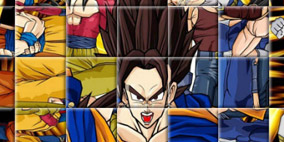 Dragon Ball Z Rotate Puzzle