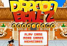 Dragon Ball Goku Jump Title Screen
