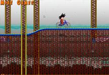 Goku Roller Coaster Gameplay
