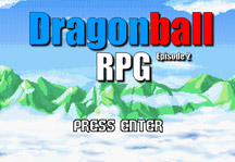 Dragon Ball RPG Episode 2 Title Screen