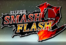 Super Smash Flash 2 (0.9b) Title Screen