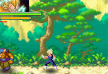Dragon Ball Fierce Fighting 4 Gameplay