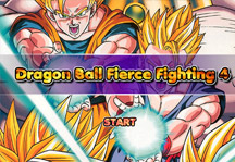 Dragon Ball Fierce Fighting 4 Title Screen