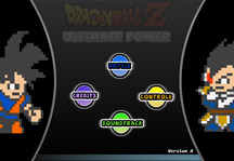 Dragon Ball Z Ultimate Power Title Screen