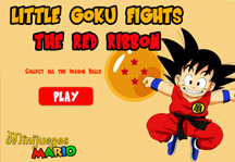 Goku vs Red Ribbon Army Title Screen