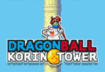 Dragon Ball Korin Tower Title Screen
