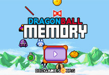 Dragon Ball Memory Title Screen
