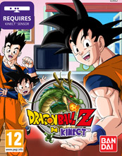 Dragon Ball Z For Kinect cover