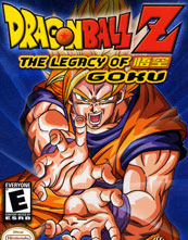 Dragon Ball Z The Legacy of Goku cover