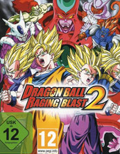 Dragon Ball Raging Blast 2 cover