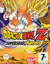Dragon Ball Z Supersonic Warriors cover
