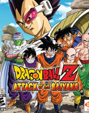 Dragon Ball Z Attack of the Saiyans cover