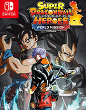 Super Dragon Ball Heroes World Mission cover