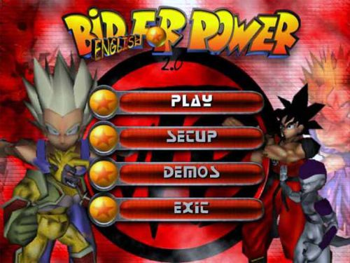 Bid for  Power - Title screen
