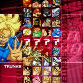 World Warriors X - Character select