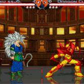 World Warriors X - Goku SSJ5 vs Dragon Claw