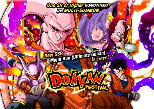 Dragon Ball Z Dokkan Battle - New Dokkan Festival