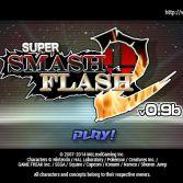 Super Smash Flash 2 - Title screen