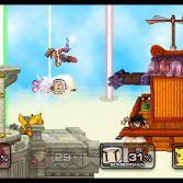 Super Smash Flash 2 - Goku, Lloyd, Bomberman and Pikachu