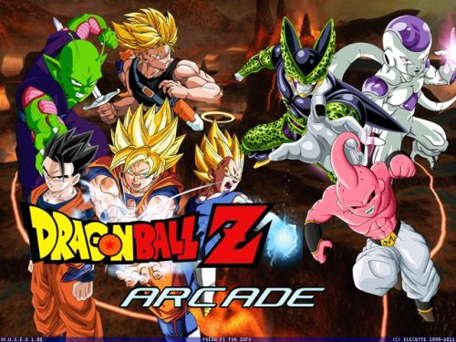 Dragon Ball Mugen 2016 - Title screen