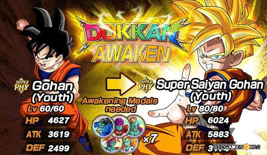 Dragon Ball Z Dokkan Battle - Gohan (Youth)