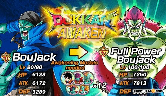Dragon Ball Z Dokkan Battle - Boujack