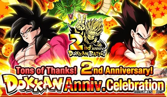 Dragon Ball Z Dokkan Battle - 2nd Aniversary