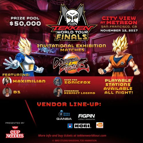 Dragon Ball FighterZ - Tekken World Tour Finals