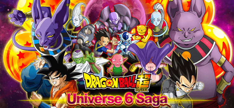 Dragon Ball Z Dokkan Battle: Dragon Ball Super Universe 6 Saga event, 6 new characters