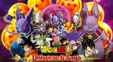 Dragon Ball Z Dokkan Battle: Dragon Ball Super Universe 6 Saga event, 6 new characters