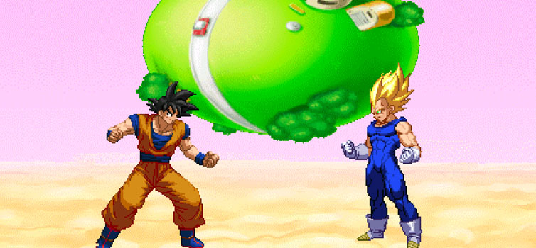 Dragon Ball Z Legacy Battle Sparking