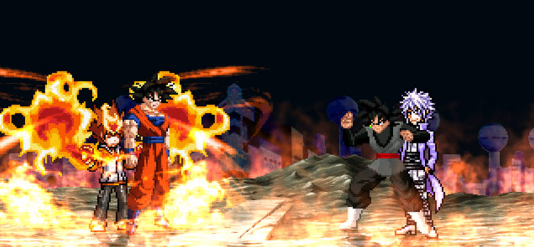 Dragon Ball Super X Katekyo Hitman Reborn Mugen