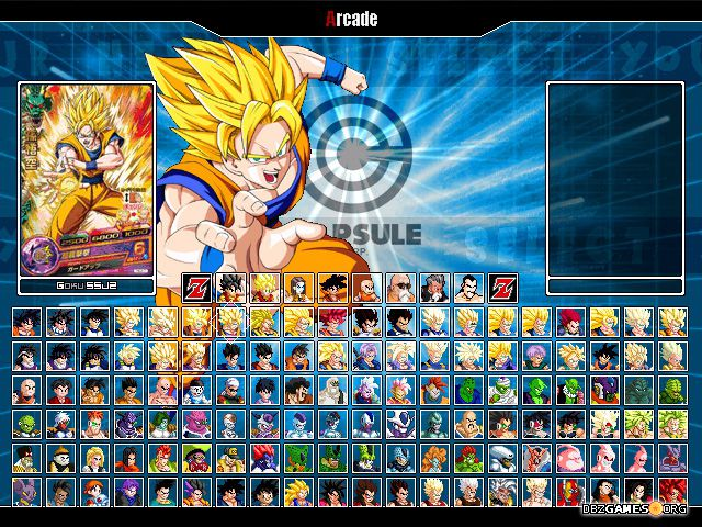 dragon ball heroes mugen download dragon ball z games