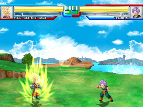 Dragon Ball Z Battle of Gods - Goten vs Trunks