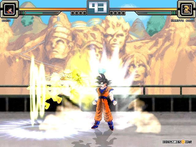 Dragon Ball Z vs Naruto Shippuden MUGEN - Download