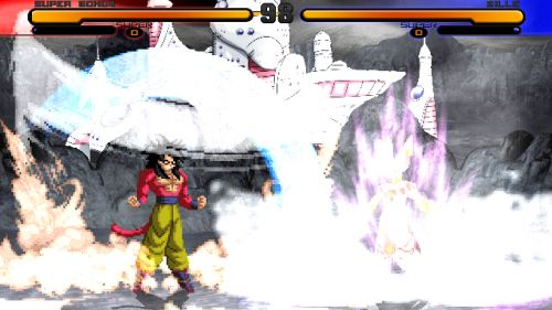 Dragon Ball Z New Final Bout 2 - Goku SSJ4 vs Bills