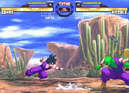 Dragon Ball Z Retro Battle X3  - Gohan vs Piccolo