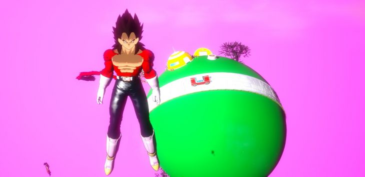 Dragon Ball Unreal Mobile - Screenshot
