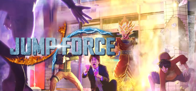 Jump Force live-action Japanese TV Spot