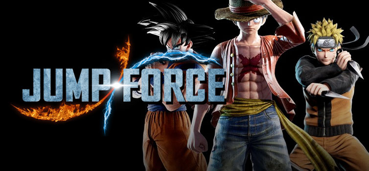 Jump Force: The road map for updates April-August 2019