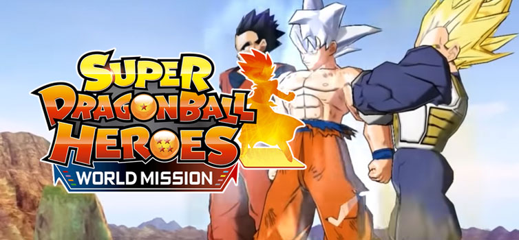 Super Dragon Ball Heroes World Mission: Battle Gameplay Trailer