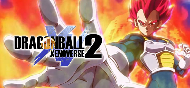 Dragon Ball Xenoverse 2: Super Saiyan God Vegeta as DLC character announced